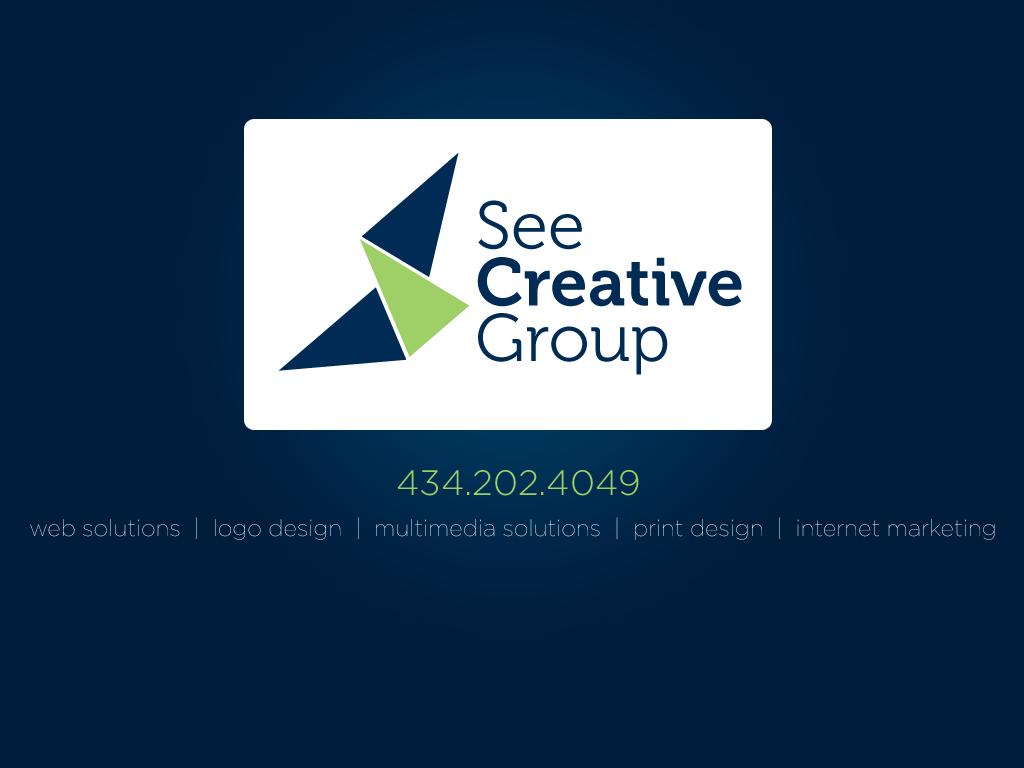 See Creative Group, Crozet Virginia | 434.202.4049